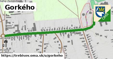 ilustrácia k Gorkého, Trebišov - 0,73km