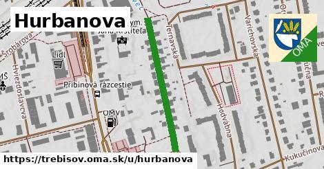 ilustrácia k Hurbanova, Trebišov - 307m