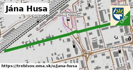 ilustrácia k Jána Husa, Trebišov - 0,72km