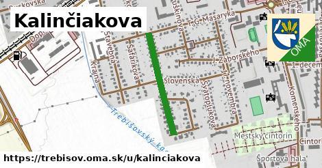 ilustrácia k Kalinčiakova, Trebišov - 484m