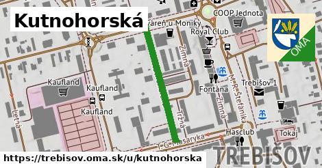 ilustrácia k Kutnohorská, Trebišov - 279m