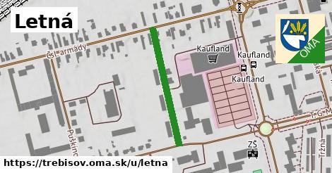 ilustrácia k Letná, Trebišov - 272m