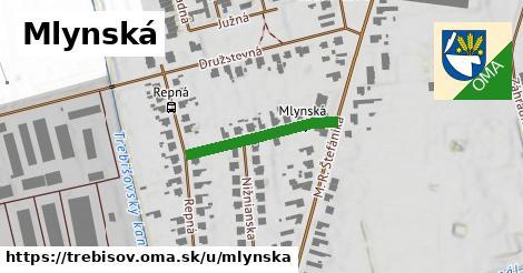 ilustrácia k Mlynská, Trebišov - 221m