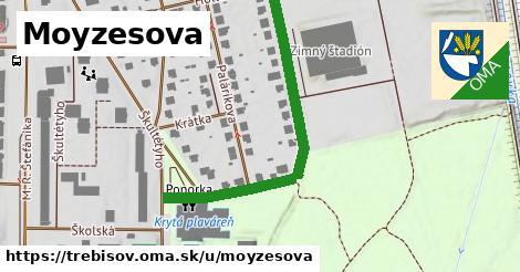 ilustrácia k Moyzesova, Trebišov - 478m