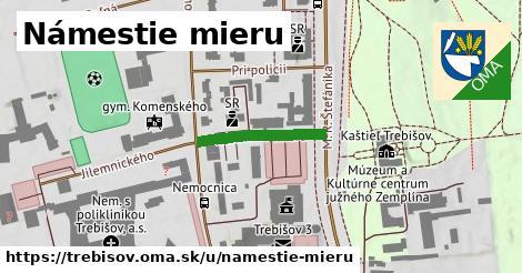 ilustrácia k Námestie mieru, Trebišov - 187m