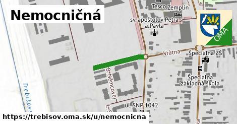 ilustrácia k Nemocničná, Trebišov - 410m