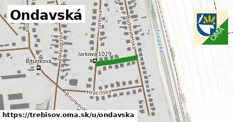 ilustrácia k Ondavská, Trebišov - 134m
