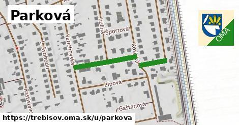 ilustrácia k Parková, Trebišov - 283m