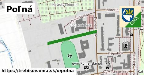 ilustrácia k Poľná, Trebišov - 260m