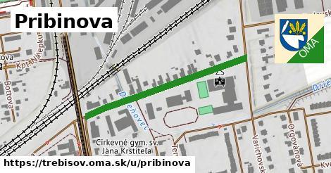 ilustrácia k Pribinova, Trebišov - 386m