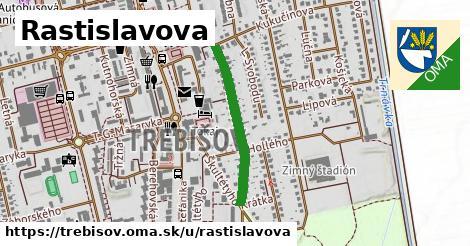 ilustrácia k Rastislavova, Trebišov - 519m