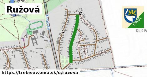 ilustrácia k Ružová, Trebišov - 490m