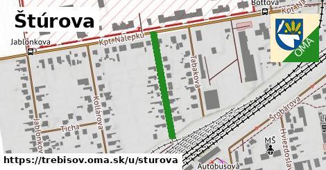 ilustrácia k Štúrova, Trebišov - 246m