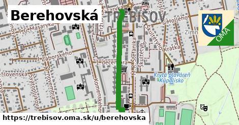 Berehovská, Trebišov