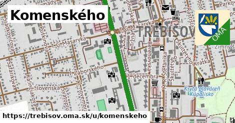 ilustrácia k Komenského, Trebišov - 1,51km