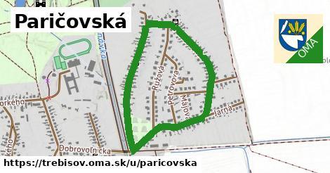 ilustrácia k Paričovská, Trebišov - 1,55km