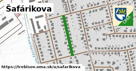 Šafárikova, Trebišov