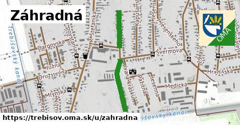 ilustrácia k Záhradná, Trebišov - 569m