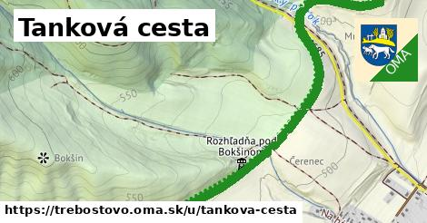 ilustrácia k Tankova cesta, Trebostovo - 2,9km