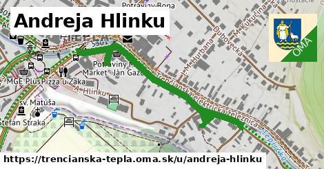 ilustrácia k Andreja Hlinku, Trenčianska Teplá - 361m