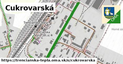 ilustrácia k Cukrovarská, Trenčianska Teplá - 422m