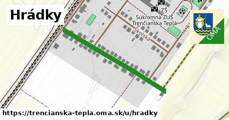 ilustrácia k Hrádky, Trenčianska Teplá - 418m