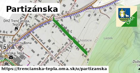 ilustrácia k Partizánska, Trenčianska Teplá - 256m