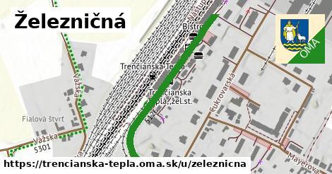 ilustrácia k Železničná, Trenčianska Teplá - 404m