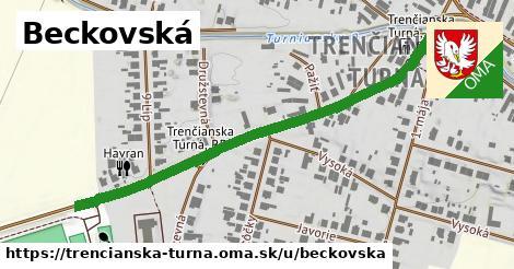 ilustrácia k Beckovská, Trenčianska Turná - 580m
