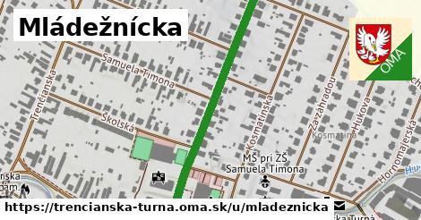 ilustrácia k Mládežnícka, Trenčianska Turná - 440m