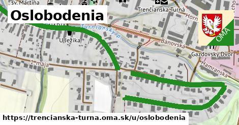 ilustrácia k Oslobodenia, Trenčianska Turná - 1,19km
