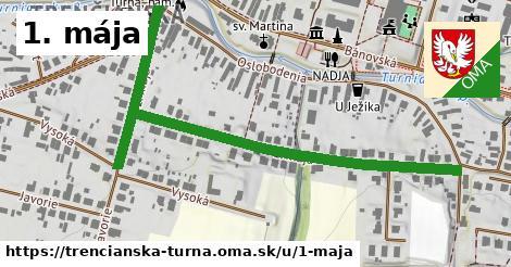 ilustrácia k 1. mája, Trenčianska Turná - 0,73km