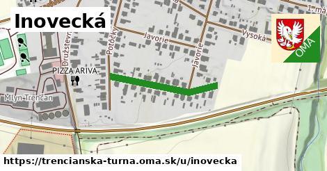 ilustrácia k Inovecká, Trenčianska Turná - 255m