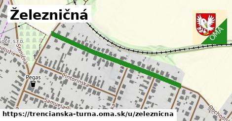 ilustrácia k Železničná, Trenčianska Turná - 444m