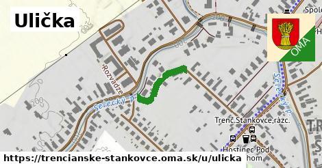 ilustrácia k Ulička, Trenčianske Stankovce - 153m