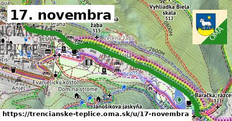 ilustrácia k 17. novembra, Trenčianske Teplice - 1,31km