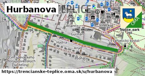 ilustrácia k Hurbanova, Trenčianske Teplice - 481m