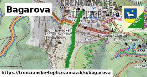 ilustrácia k Bagarova, Trenčianske Teplice - 604m