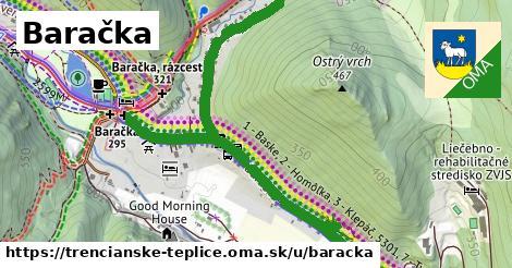 ilustrácia k Baračka, Trenčianske Teplice - 0,92km