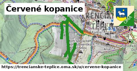 ilustrácia k Červené kopanice, Trenčianske Teplice - 1,32km
