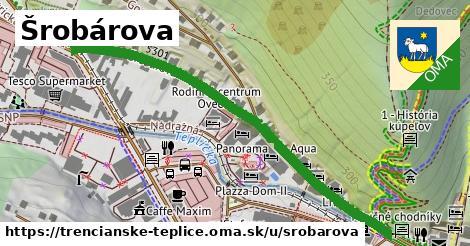 ilustrácia k Šrobárova, Trenčianske Teplice - 599m