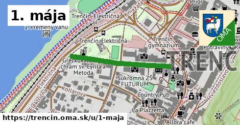 ilustrácia k 1. mája, Trenčín - 319m
