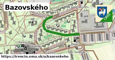 ilustrácia k Bazovského, Trenčín - 343m