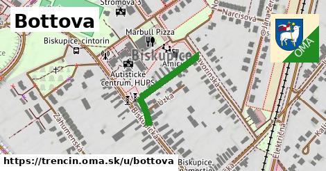 ilustrácia k Bottova, Trenčín - 236m