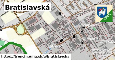 ilustrácia k Bratislavská, Trenčín - 4,6km