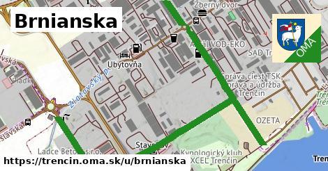 ilustrácia k Brnianska, Trenčín - 1,56km