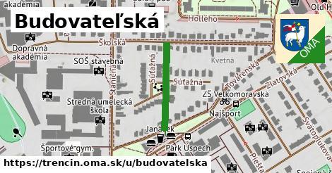 ilustrácia k Budovateľská, Trenčín - 198m