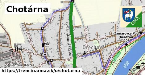 ilustračný obrázok k Chotárna, Trenčín