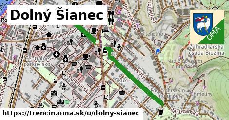 ilustrácia k Dolný Šianec, Trenčín - 0,83km