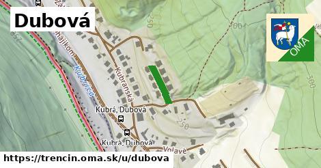 ilustrácia k Dubová, Trenčín - 174m